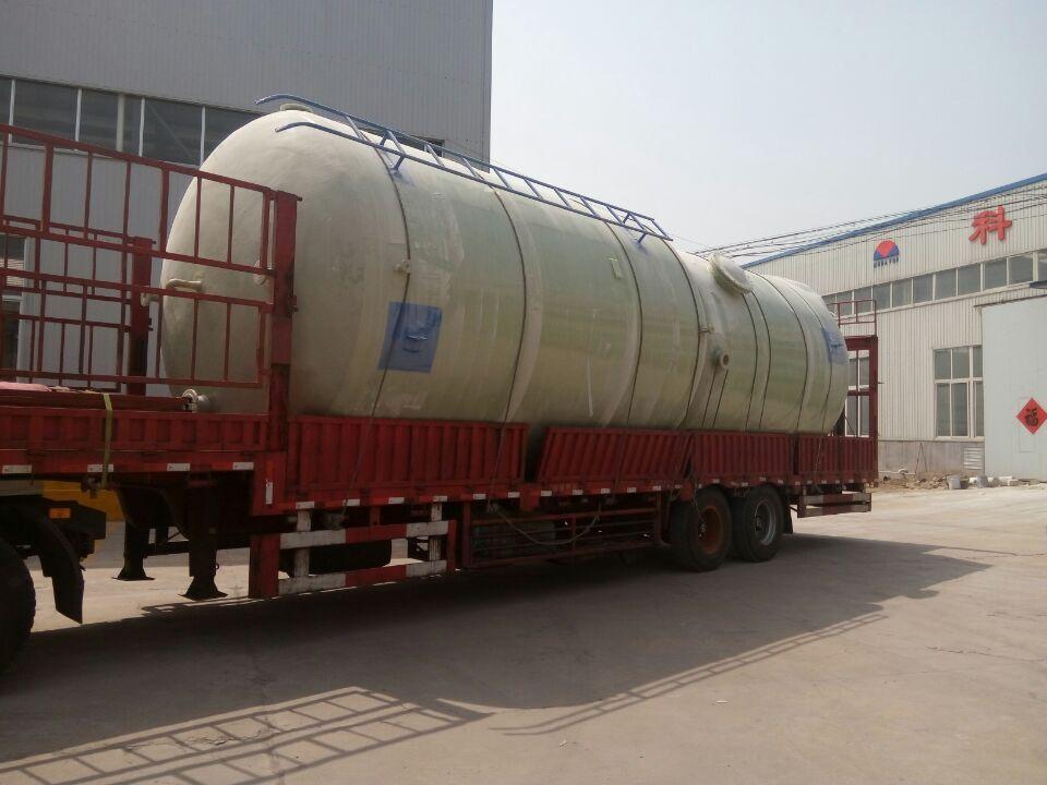 玻璃钢储罐厂家介绍玻璃钢罐出现渗漏现象的处理方法